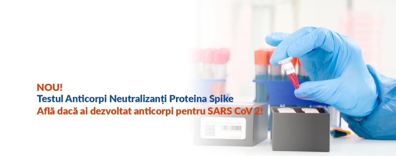 Test SARS-CoV-2 - Anti-proteina spike